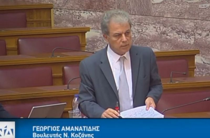 Συνάντηση είχε ο Βουλευτής Ν. Κοζάνης κ. Γιώργος Αμανατίδης με την Γενική Γραμματέα του Υπουργείου Παιδείας κα Γκίκα Αναστασία