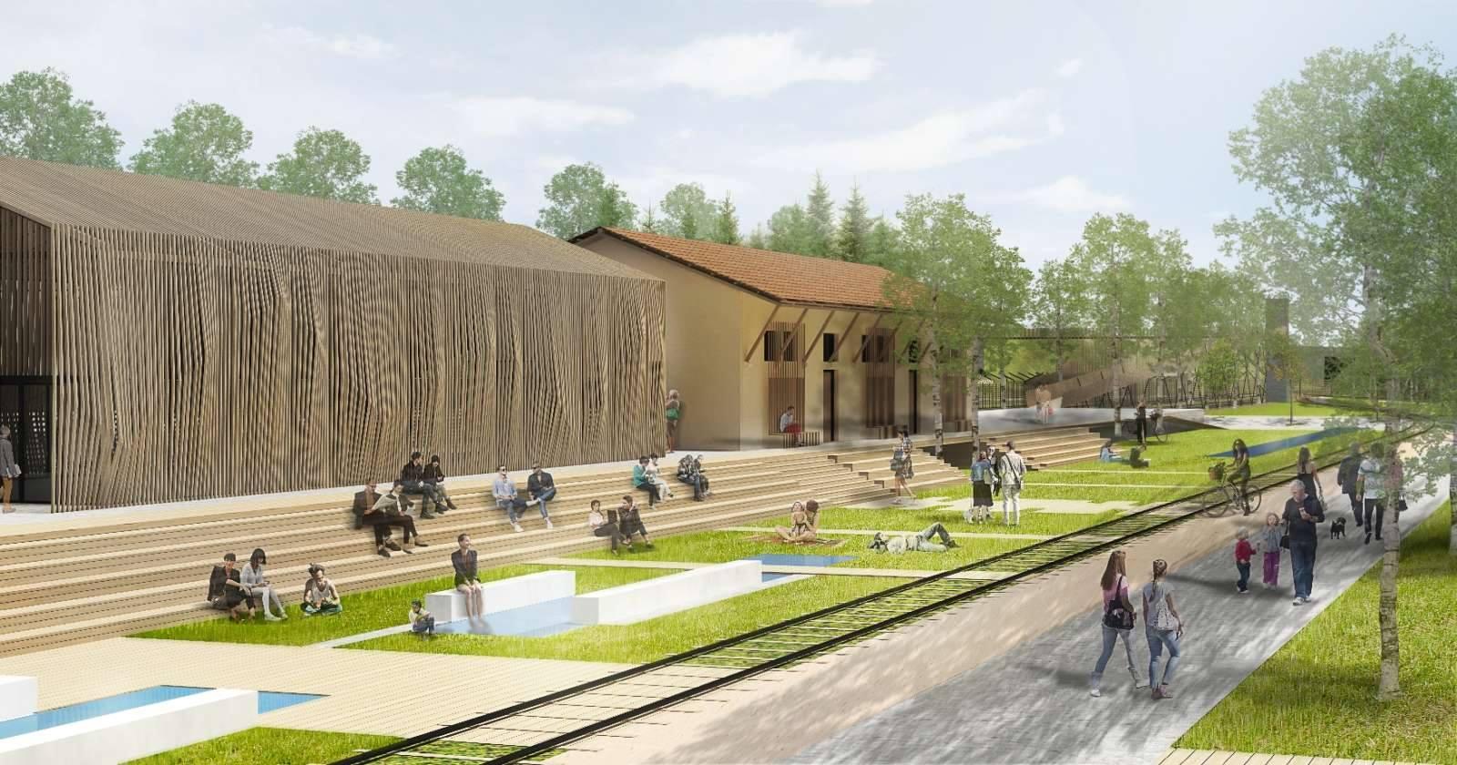 To μέλλον της περιοχής του Σταθμού στην Κοζάνη - Παρουσίαση των αποτελεσμάτων του Πανελλήνιου Αρχιτεκτονικού Διαγωνισμού Ιδεών