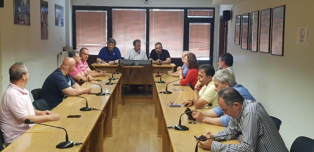 Επίσκεψη του υποψηφίου Βουλευτή της Ν.Δ Γ. Αμανατίδη στον ΣΠΑΡΤΑΚΟ